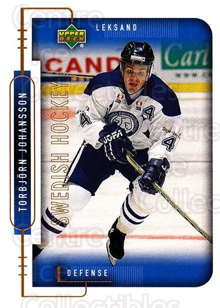 1999-00 Swedish Upper Deck #105 Torbjorn Johansson<br/>7 In Stock - $2.00 each - <a href=https://centericecollectibles.foxycart.com/cart?name=1999-00%20Swedish%20Upper%20Deck%20%23105%20Torbjorn%20Johans...&quantity_max=7&price=$2.00&code=80618 class=foxycart> Buy it now! </a>