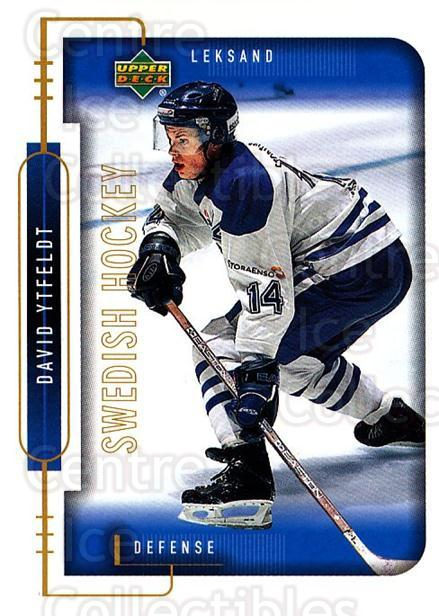 1999-00 Swedish Upper Deck #107 David Ytfeldt<br/>9 In Stock - $2.00 each - <a href=https://centericecollectibles.foxycart.com/cart?name=1999-00%20Swedish%20Upper%20Deck%20%23107%20David%20Ytfeldt...&quantity_max=9&price=$2.00&code=80620 class=foxycart> Buy it now! </a>