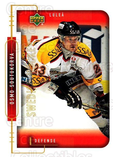 1999-00 Swedish Upper Deck #137 Osmo Soutukorva<br/>5 In Stock - $2.00 each - <a href=https://centericecollectibles.foxycart.com/cart?name=1999-00%20Swedish%20Upper%20Deck%20%23137%20Osmo%20Soutukorva...&quantity_max=5&price=$2.00&code=80652 class=foxycart> Buy it now! </a>