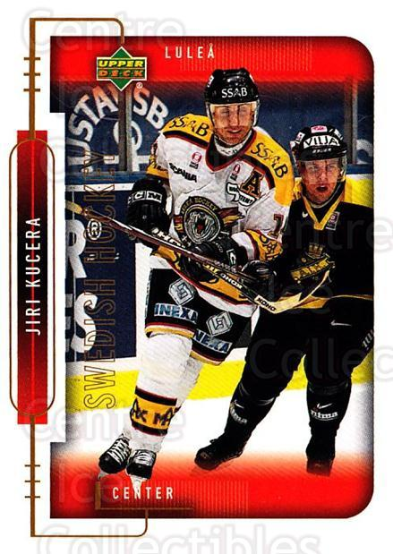 1999-00 Swedish Upper Deck #150 Jiri Kucera<br/>9 In Stock - $2.00 each - <a href=https://centericecollectibles.foxycart.com/cart?name=1999-00%20Swedish%20Upper%20Deck%20%23150%20Jiri%20Kucera...&quantity_max=9&price=$2.00&code=80667 class=foxycart> Buy it now! </a>