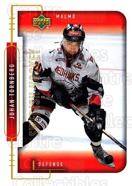 1999-00 Swedish Upper Deck #152 Johan Tornberg<br/>7 In Stock - $2.00 each - <a href=https://centericecollectibles.foxycart.com/cart?name=1999-00%20Swedish%20Upper%20Deck%20%23152%20Johan%20Tornberg...&quantity_max=7&price=$2.00&code=80669 class=foxycart> Buy it now! </a>