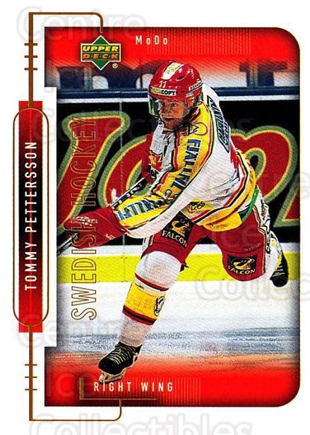 1999-00 Swedish Upper Deck #181 Tommy Pettersson<br/>8 In Stock - $2.00 each - <a href=https://centericecollectibles.foxycart.com/cart?name=1999-00%20Swedish%20Upper%20Deck%20%23181%20Tommy%20Pettersso...&quantity_max=8&price=$2.00&code=80696 class=foxycart> Buy it now! </a>