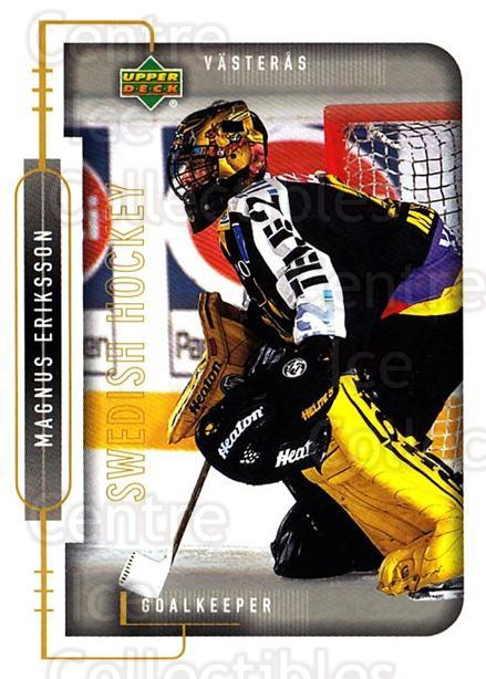 1999-00 Swedish Upper Deck #185 Magnus Eriksson<br/>3 In Stock - $2.00 each - <a href=https://centericecollectibles.foxycart.com/cart?name=1999-00%20Swedish%20Upper%20Deck%20%23185%20Magnus%20Eriksson...&quantity_max=3&price=$2.00&code=80700 class=foxycart> Buy it now! </a>