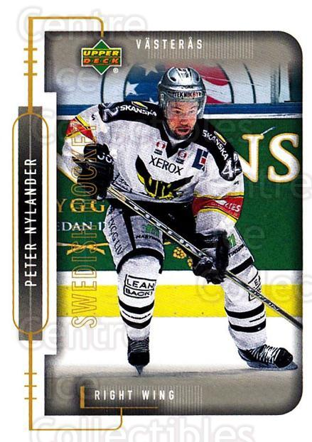 1999-00 Swedish Upper Deck #192 Peter Nylander<br/>2 In Stock - $2.00 each - <a href=https://centericecollectibles.foxycart.com/cart?name=1999-00%20Swedish%20Upper%20Deck%20%23192%20Peter%20Nylander...&quantity_max=2&price=$2.00&code=80707 class=foxycart> Buy it now! </a>