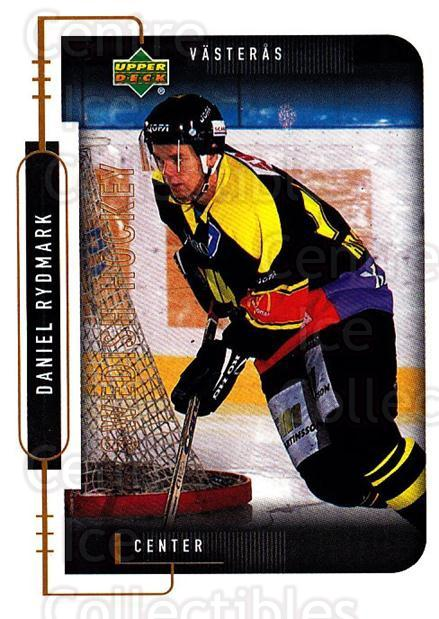 1999-00 Swedish Upper Deck #195 Daniel Rydmark<br/>8 In Stock - $2.00 each - <a href=https://centericecollectibles.foxycart.com/cart?name=1999-00%20Swedish%20Upper%20Deck%20%23195%20Daniel%20Rydmark...&quantity_max=8&price=$2.00&code=80710 class=foxycart> Buy it now! </a>