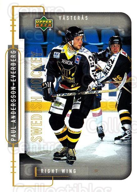 1999-00 Swedish Upper Deck #197 Paul Andersson<br/>6 In Stock - $2.00 each - <a href=https://centericecollectibles.foxycart.com/cart?name=1999-00%20Swedish%20Upper%20Deck%20%23197%20Paul%20Andersson...&quantity_max=6&price=$2.00&code=80711 class=foxycart> Buy it now! </a>