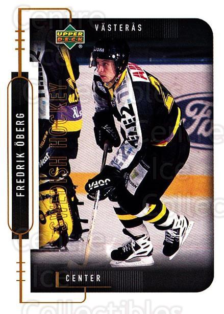 1999-00 Swedish Upper Deck #199 Fredrik Oberg<br/>9 In Stock - $2.00 each - <a href=https://centericecollectibles.foxycart.com/cart?name=1999-00%20Swedish%20Upper%20Deck%20%23199%20Fredrik%20Oberg...&quantity_max=9&price=$2.00&code=80713 class=foxycart> Buy it now! </a>