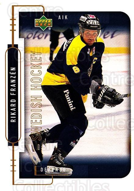 1999-00 Swedish Upper Deck #2 Rikard Franzen<br/>7 In Stock - $2.00 each - <a href=https://centericecollectibles.foxycart.com/cart?name=1999-00%20Swedish%20Upper%20Deck%20%232%20Rikard%20Franzen...&quantity_max=7&price=$2.00&code=80714 class=foxycart> Buy it now! </a>