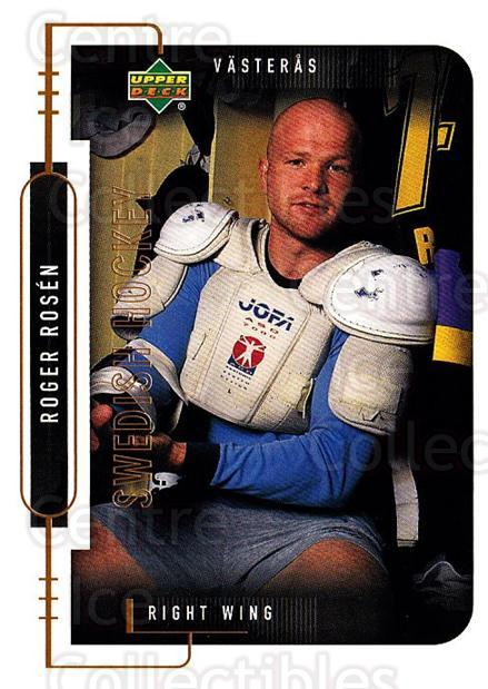 1999-00 Swedish Upper Deck #200 Roger Rosen<br/>6 In Stock - $2.00 each - <a href=https://centericecollectibles.foxycart.com/cart?name=1999-00%20Swedish%20Upper%20Deck%20%23200%20Roger%20Rosen...&quantity_max=6&price=$2.00&code=80716 class=foxycart> Buy it now! </a>
