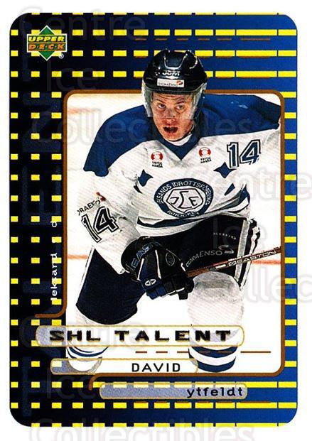 1999-00 Swedish Upper Deck #208 David Ytfeldt<br/>9 In Stock - $2.00 each - <a href=https://centericecollectibles.foxycart.com/cart?name=1999-00%20Swedish%20Upper%20Deck%20%23208%20David%20Ytfeldt...&quantity_max=9&price=$2.00&code=80724 class=foxycart> Buy it now! </a>