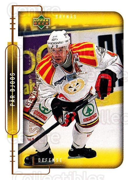 1999-00 Swedish Upper Deck #22 Par Djoos<br/>10 In Stock - $2.00 each - <a href=https://centericecollectibles.foxycart.com/cart?name=1999-00%20Swedish%20Upper%20Deck%20%2322%20Par%20Djoos...&quantity_max=10&price=$2.00&code=80736 class=foxycart> Buy it now! </a>