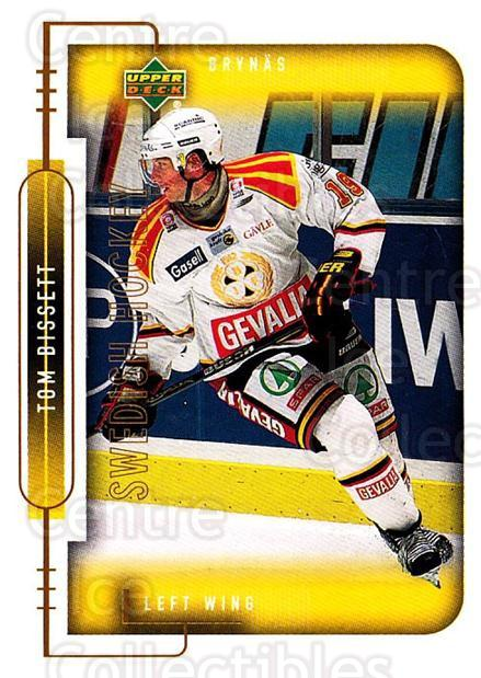 1999-00 Swedish Upper Deck #30 Tom Bissett<br/>8 In Stock - $2.00 each - <a href=https://centericecollectibles.foxycart.com/cart?name=1999-00%20Swedish%20Upper%20Deck%20%2330%20Tom%20Bissett...&quantity_max=8&price=$2.00&code=80745 class=foxycart> Buy it now! </a>