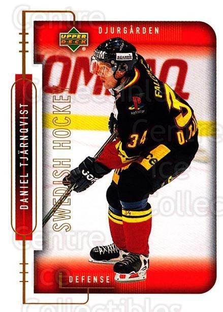 1999-00 Swedish Upper Deck #39 Daniel Tjarnqvist<br/>4 In Stock - $2.00 each - <a href=https://centericecollectibles.foxycart.com/cart?name=1999-00%20Swedish%20Upper%20Deck%20%2339%20Daniel%20Tjarnqvi...&quantity_max=4&price=$2.00&code=80753 class=foxycart> Buy it now! </a>