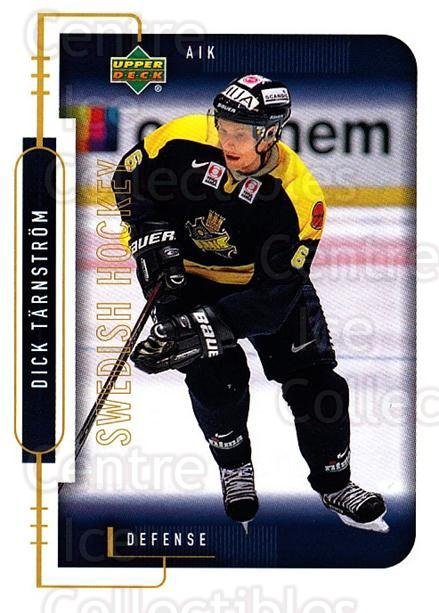 1999-00 Swedish Upper Deck #4 Dick Tarnstrom<br/>4 In Stock - $2.00 each - <a href=https://centericecollectibles.foxycart.com/cart?name=1999-00%20Swedish%20Upper%20Deck%20%234%20Dick%20Tarnstrom...&quantity_max=4&price=$2.00&code=80754 class=foxycart> Buy it now! </a>