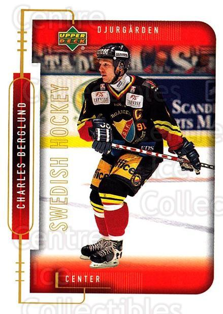 1999-00 Swedish Upper Deck #44 Charles Berglund<br/>7 In Stock - $2.00 each - <a href=https://centericecollectibles.foxycart.com/cart?name=1999-00%20Swedish%20Upper%20Deck%20%2344%20Charles%20Berglun...&quantity_max=7&price=$2.00&code=80759 class=foxycart> Buy it now! </a>