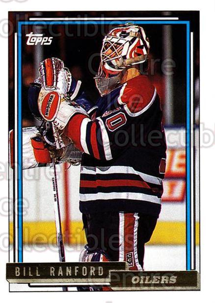 1992-93 Topps Gold #126 Bill Ranford<br/>7 In Stock - $2.00 each - <a href=https://centericecollectibles.foxycart.com/cart?name=1992-93%20Topps%20Gold%20%23126%20Bill%20Ranford...&quantity_max=7&price=$2.00&code=8081 class=foxycart> Buy it now! </a>