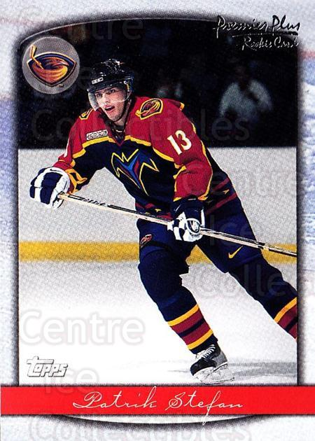 1999-00 Topps Premier Plus #101 Patrik Stefan<br/>6 In Stock - $1.00 each - <a href=https://centericecollectibles.foxycart.com/cart?name=1999-00%20Topps%20Premier%20Plus%20%23101%20Patrik%20Stefan...&quantity_max=6&price=$1.00&code=81019 class=foxycart> Buy it now! </a>
