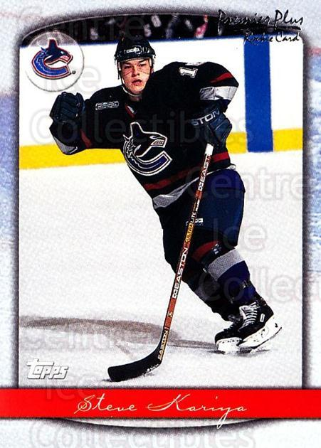 1999-00 Topps Premier Plus #118 Steve Kariya<br/>4 In Stock - $1.00 each - <a href=https://centericecollectibles.foxycart.com/cart?name=1999-00%20Topps%20Premier%20Plus%20%23118%20Steve%20Kariya...&quantity_max=4&price=$1.00&code=81036 class=foxycart> Buy it now! </a>