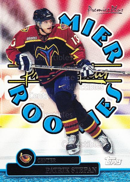 1999-00 Topps Premier Plus Premier Rookies #5 Patrik Stefan<br/>7 In Stock - $2.00 each - <a href=https://centericecollectibles.foxycart.com/cart?name=1999-00%20Topps%20Premier%20Plus%20Premier%20Rookies%20%235%20Patrik%20Stefan...&quantity_max=7&price=$2.00&code=81058 class=foxycart> Buy it now! </a>