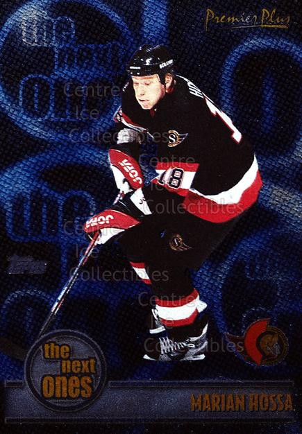 1999-00 Topps Premier Plus The Next Ones #2 Marian Hossa<br/>8 In Stock - $2.00 each - <a href=https://centericecollectibles.foxycart.com/cart?name=1999-00%20Topps%20Premier%20Plus%20The%20Next%20Ones%20%232%20Marian%20Hossa...&quantity_max=8&price=$2.00&code=81068 class=foxycart> Buy it now! </a>