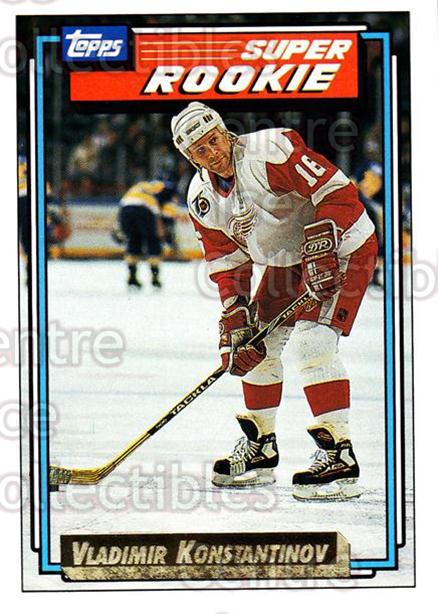 1992-93 Topps Gold #14 Vladimir Konstantinov<br/>1 In Stock - $2.00 each - <a href=https://centericecollectibles.foxycart.com/cart?name=1992-93%20Topps%20Gold%20%2314%20Vladimir%20Konsta...&quantity_max=1&price=$2.00&code=8106 class=foxycart> Buy it now! </a>