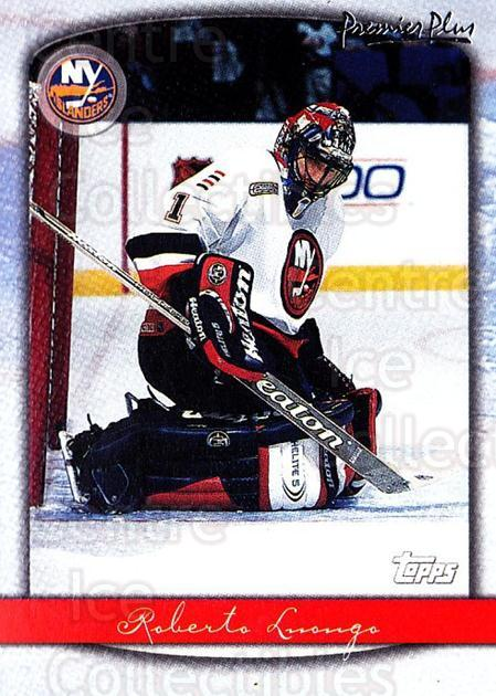 1999-00 Topps Premier Plus #121 Roberto Luongo<br/>3 In Stock - $2.00 each - <a href=https://centericecollectibles.foxycart.com/cart?name=1999-00%20Topps%20Premier%20Plus%20%23121%20Roberto%20Luongo...&quantity_max=3&price=$2.00&code=81079 class=foxycart> Buy it now! </a>