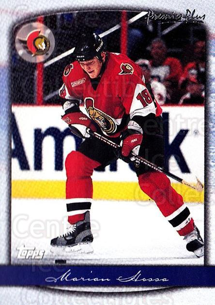 1999-00 Topps Premier Plus #44 Marian Hossa<br/>11 In Stock - $1.00 each - <a href=https://centericecollectibles.foxycart.com/cart?name=1999-00%20Topps%20Premier%20Plus%20%2344%20Marian%20Hossa...&quantity_max=11&price=$1.00&code=81128 class=foxycart> Buy it now! </a>