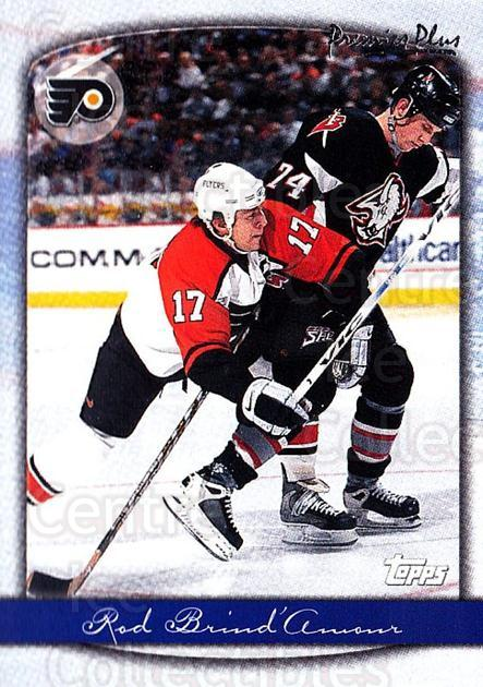 1999-00 Topps Premier Plus #62 Rod Brind'Amour<br/>4 In Stock - $1.00 each - <a href=https://centericecollectibles.foxycart.com/cart?name=1999-00%20Topps%20Premier%20Plus%20%2362%20Rod%20Brind'Amour...&quantity_max=4&price=$1.00&code=81148 class=foxycart> Buy it now! </a>