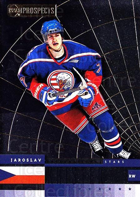 1999-00 UD CHL Prospects International Stars #9 Jaroslav Kristek<br/>3 In Stock - $3.00 each - <a href=https://centericecollectibles.foxycart.com/cart?name=1999-00%20UD%20CHL%20Prospects%20International%20Stars%20%239%20Jaroslav%20Kriste...&price=$3.00&code=81196 class=foxycart> Buy it now! </a>