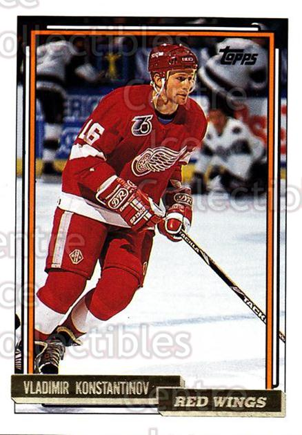 1992-93 Topps Gold #165 Vladimir Konstantinov<br/>4 In Stock - $2.00 each - <a href=https://centericecollectibles.foxycart.com/cart?name=1992-93%20Topps%20Gold%20%23165%20Vladimir%20Konsta...&quantity_max=4&price=$2.00&code=8123 class=foxycart> Buy it now! </a>
