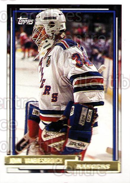 1992-93 Topps Gold #169 John Vanbiesbrouck<br/>3 In Stock - $2.00 each - <a href=https://centericecollectibles.foxycart.com/cart?name=1992-93%20Topps%20Gold%20%23169%20John%20Vanbiesbro...&quantity_max=3&price=$2.00&code=8127 class=foxycart> Buy it now! </a>