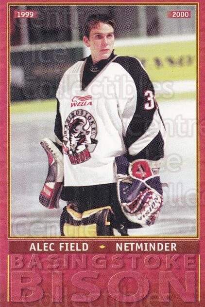 1999-00 UK British Elite Basingstoke Bison #10 Alec Field<br/>7 In Stock - $2.00 each - <a href=https://centericecollectibles.foxycart.com/cart?name=1999-00%20UK%20British%20Elite%20Basingstoke%20Bison%20%2310%20Alec%20Field...&quantity_max=7&price=$2.00&code=81284 class=foxycart> Buy it now! </a>