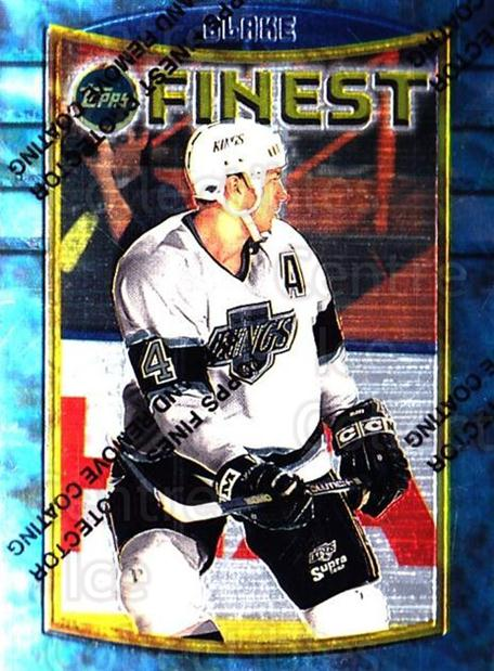 1994-95 Finest #45 Rob Blake<br/>6 In Stock - $1.00 each - <a href=https://centericecollectibles.foxycart.com/cart?name=1994-95%20Finest%20%2345%20Rob%20Blake...&quantity_max=6&price=$1.00&code=812 class=foxycart> Buy it now! </a>