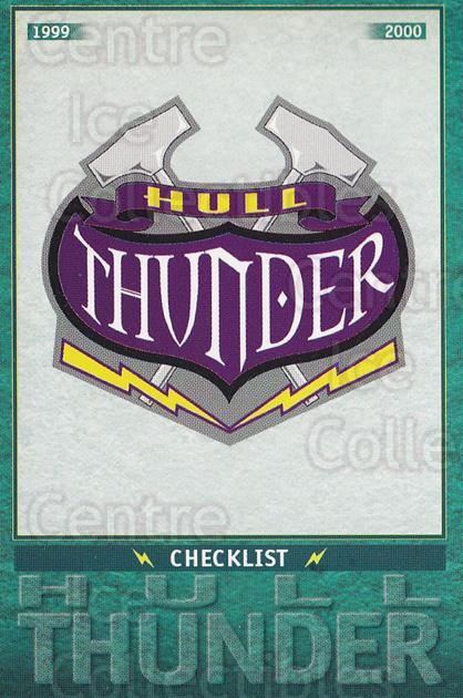 1999-00 UK British Elite Hull Thunder #1 Checklist<br/>5 In Stock - $2.00 each - <a href=https://centericecollectibles.foxycart.com/cart?name=1999-00%20UK%20British%20Elite%20Hull%20Thunder%20%231%20Checklist...&quantity_max=5&price=$2.00&code=81305 class=foxycart> Buy it now! </a>