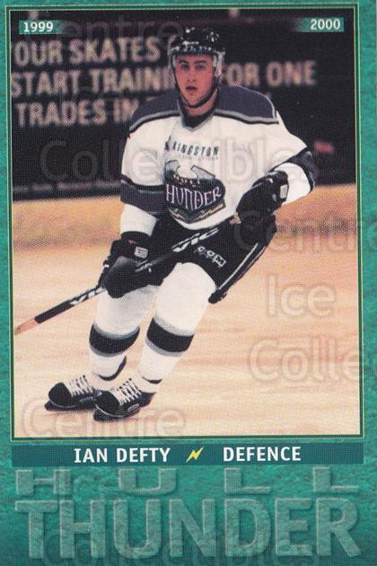 1999-00 UK British Elite Hull Thunder #3 Ian Defty<br/>5 In Stock - $2.00 each - <a href=https://centericecollectibles.foxycart.com/cart?name=1999-00%20UK%20British%20Elite%20Hull%20Thunder%20%233%20Ian%20Defty...&quantity_max=5&price=$2.00&code=81317 class=foxycart> Buy it now! </a>