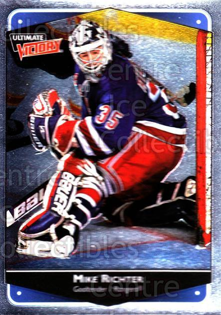 1999-00 UD Ultimate Victory #56 Mike Richter<br/>6 In Stock - $1.00 each - <a href=https://centericecollectibles.foxycart.com/cart?name=1999-00%20UD%20Ultimate%20Victory%20%2356%20Mike%20Richter...&quantity_max=6&price=$1.00&code=81428 class=foxycart> Buy it now! </a>
