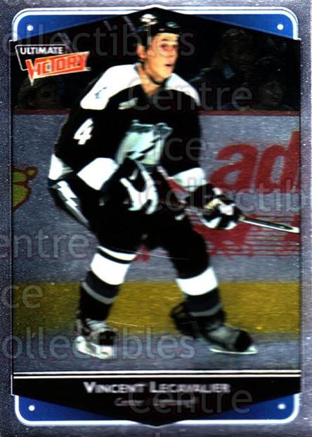 1999-00 UD Ultimate Victory #79 Vincent Lecavalier<br/>6 In Stock - $1.00 each - <a href=https://centericecollectibles.foxycart.com/cart?name=1999-00%20UD%20Ultimate%20Victory%20%2379%20Vincent%20Lecaval...&quantity_max=6&price=$1.00&code=81453 class=foxycart> Buy it now! </a>