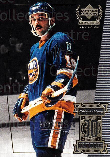 1999-00 UD Century Legends #30 Bryan Trottier<br/>8 In Stock - $2.00 each - <a href=https://centericecollectibles.foxycart.com/cart?name=1999-00%20UD%20Century%20Legends%20%2330%20Bryan%20Trottier...&quantity_max=8&price=$2.00&code=81502 class=foxycart> Buy it now! </a>