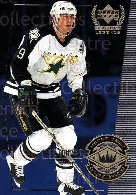 1999-00 UD Century Legends #60 Mike Modano<br/>13 In Stock - $1.00 each - <a href=https://centericecollectibles.foxycart.com/cart?name=1999-00%20UD%20Century%20Legends%20%2360%20Mike%20Modano...&quantity_max=13&price=$1.00&code=81534 class=foxycart> Buy it now! </a>