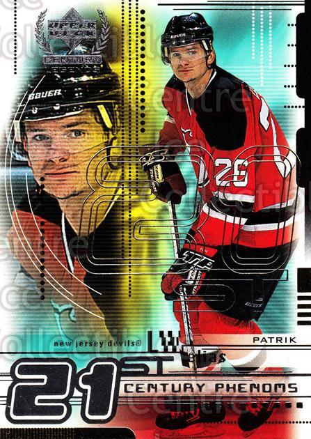 1999-00 UD Century Legends #80 Patrik Elias<br/>7 In Stock - $1.00 each - <a href=https://centericecollectibles.foxycart.com/cart?name=1999-00%20UD%20Century%20Legends%20%2380%20Patrik%20Elias...&quantity_max=7&price=$1.00&code=81556 class=foxycart> Buy it now! </a>