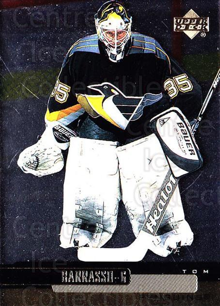1999-00 Upper Deck Gold Reserve #105 Tom Barrasso<br/>4 In Stock - $1.00 each - <a href=https://centericecollectibles.foxycart.com/cart?name=1999-00%20Upper%20Deck%20Gold%20Reserve%20%23105%20Tom%20Barrasso...&price=$1.00&code=81674 class=foxycart> Buy it now! </a>