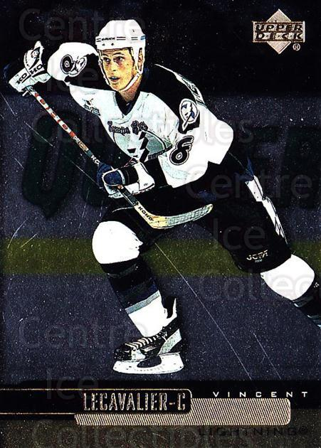 1999-00 Upper Deck Gold Reserve #117 Vincent Lecavalier<br/>5 In Stock - $1.00 each - <a href=https://centericecollectibles.foxycart.com/cart?name=1999-00%20Upper%20Deck%20Gold%20Reserve%20%23117%20Vincent%20Lecaval...&quantity_max=5&price=$1.00&code=81686 class=foxycart> Buy it now! </a>