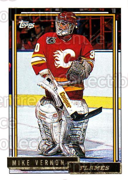 1992-93 Topps Gold #20 Mike Vernon<br/>4 In Stock - $2.00 each - <a href=https://centericecollectibles.foxycart.com/cart?name=1992-93%20Topps%20Gold%20%2320%20Mike%20Vernon...&quantity_max=4&price=$2.00&code=8170 class=foxycart> Buy it now! </a>
