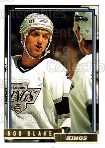 1992-93 Topps Gold #211 Rob Blake<br/>6 In Stock - $2.00 each - <a href=https://centericecollectibles.foxycart.com/cart?name=1992-93%20Topps%20Gold%20%23211%20Rob%20Blake...&quantity_max=6&price=$2.00&code=8172 class=foxycart> Buy it now! </a>