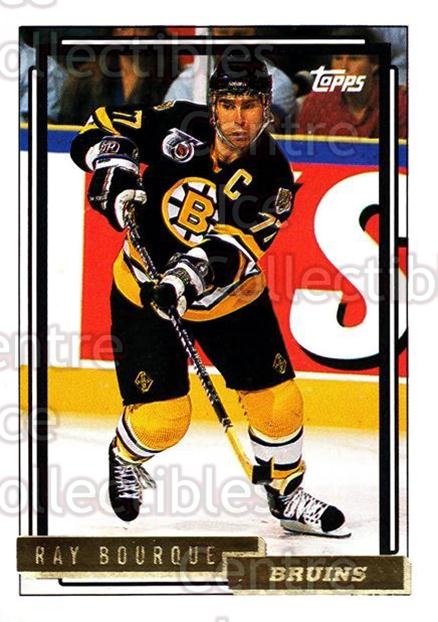 1992-93 Topps Gold #221 Ray Bourque<br/>6 In Stock - $2.00 each - <a href=https://centericecollectibles.foxycart.com/cart?name=1992-93%20Topps%20Gold%20%23221%20Ray%20Bourque...&quantity_max=6&price=$2.00&code=8182 class=foxycart> Buy it now! </a>
