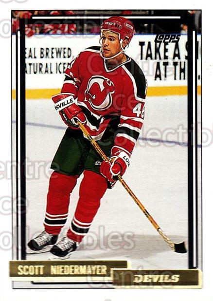 1992-93 Topps Gold #223 Scott Niedermayer<br/>2 In Stock - $2.00 each - <a href=https://centericecollectibles.foxycart.com/cart?name=1992-93%20Topps%20Gold%20%23223%20Scott%20Niedermay...&quantity_max=2&price=$2.00&code=8184 class=foxycart> Buy it now! </a>
