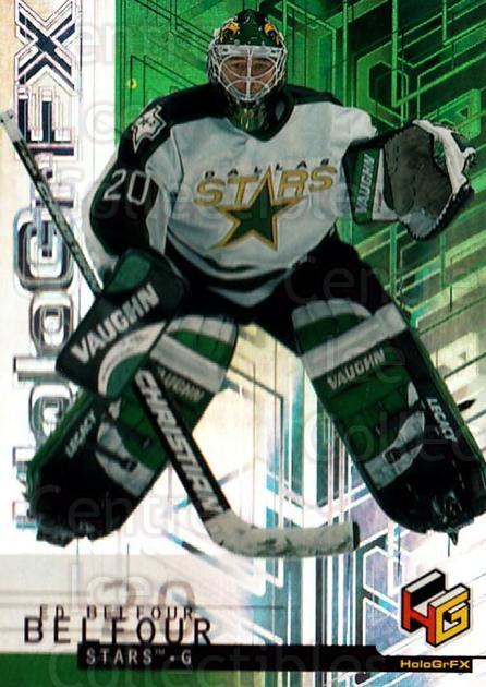 1999-00 Upper Deck HoloGrFx #20 Ed Belfour<br/>1 In Stock - $1.00 each - <a href=https://centericecollectibles.foxycart.com/cart?name=1999-00%20Upper%20Deck%20HoloGrFx%20%2320%20Ed%20Belfour...&quantity_max=1&price=$1.00&code=81865 class=foxycart> Buy it now! </a>