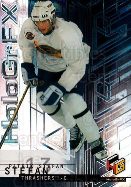 1999-00 Upper Deck HoloGrFx #3 Patrik Stefan<br/>7 In Stock - $1.00 each - <a href=https://centericecollectibles.foxycart.com/cart?name=1999-00%20Upper%20Deck%20HoloGrFx%20%233%20Patrik%20Stefan...&quantity_max=7&price=$1.00&code=81875 class=foxycart> Buy it now! </a>