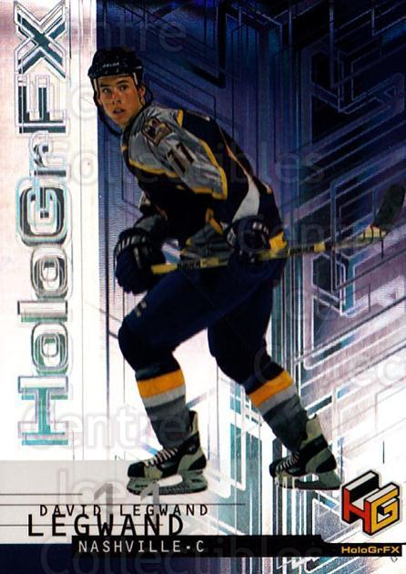 1999-00 Upper Deck HoloGrFx #31 David Legwand<br/>9 In Stock - $1.00 each - <a href=https://centericecollectibles.foxycart.com/cart?name=1999-00%20Upper%20Deck%20HoloGrFx%20%2331%20David%20Legwand...&quantity_max=9&price=$1.00&code=81877 class=foxycart> Buy it now! </a>
