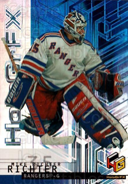 1999-00 Upper Deck HoloGrFx #40 Mike Richter<br/>10 In Stock - $1.00 each - <a href=https://centericecollectibles.foxycart.com/cart?name=1999-00%20Upper%20Deck%20HoloGrFx%20%2340%20Mike%20Richter...&quantity_max=10&price=$1.00&code=81887 class=foxycart> Buy it now! </a>
